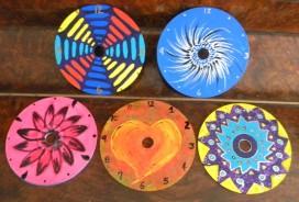 image of cd clocks in progress