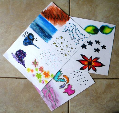 image of 'doodle card' artwork