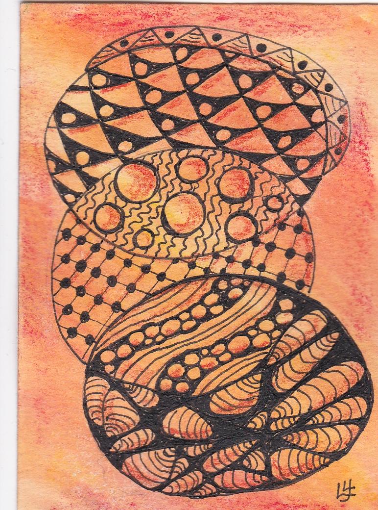 Artist Card Tangle