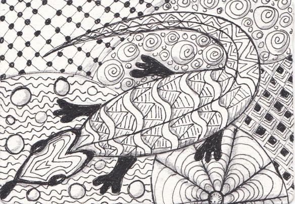 zentangle animals 1 of 3
