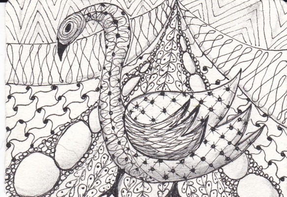 zentangle animals 3 of 3