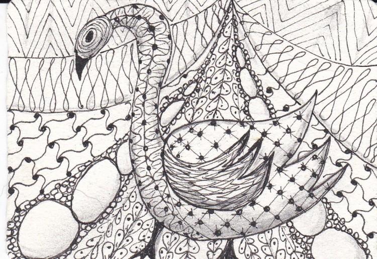 zentangle animals 3 of 3